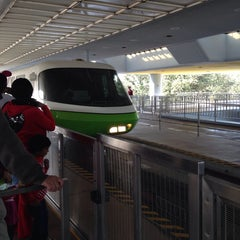 Photo taken at Monorail Green by Theresa S. on 12/26/2013