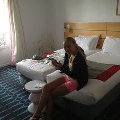Photo taken at Hotel Lorette Opera by Caroline V. on 7/31/2013