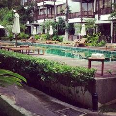 Photo taken at Maryoosamui Hotel by Kimberly K. on 8/1/2013