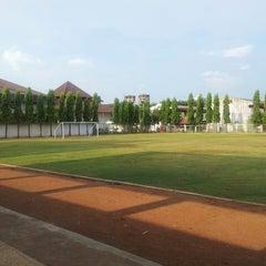 Photo taken at Politeknik Ilmu Pelayaran (PIP) Semarang by Simon on 3/18/2014
