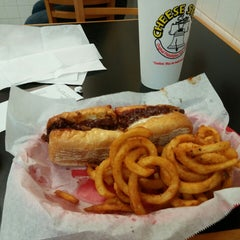 Photo taken at Cheese Steak Shop by JD S. on 2/4/2015