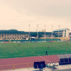 Photo taken at Cebu City Sports Center by Claire B. on 5/12/2013