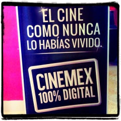 Photo taken at Cinemex by Dan G. on 8/11/2013