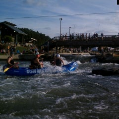Photo taken at U.S. National Whitewater Center by Netty on 5/30/2013