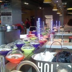 Photo taken at YO! Sushi by Irene on 8/7/2013