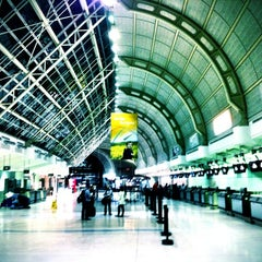 Photo taken at Terminal 3 by LeeOhNelle on 10/6/2012