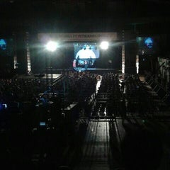 Photo taken at GOR Tridharma by Vyne A. on 9/21/2013