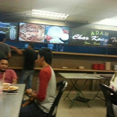 Photo taken at Adam Char Koey Teow by Ahmad F. on 8/28/2013