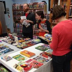 Photo taken at Hub Comics by David M. on 5/4/2013