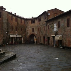 Photo taken at Panicale by Giuseppe C. on 2/11/2014
