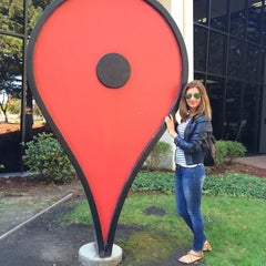 Photo taken at Googleplex - Crave Cafe by Elena P. on 10/25/2014