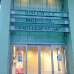Photo taken at Biblioteca Municipal Emília Xargay by David M. on 9/27/2013