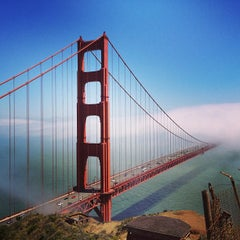 Photo taken at Golden Gate Bridge by BuddhaBen R. on 6/7/2013