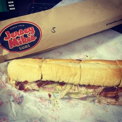 Photo taken at Jersey Mike's Subs by Reggie C. on 1/3/2015