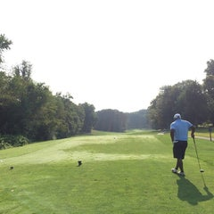 Photo taken at Reston National Golf Course by Mike S. on 8/10/2014