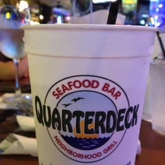 Photo taken at Quarterdeck Restaurant by Eugene Y. on 11/28/2012