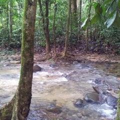 Photo taken at Sg. Congkak Waterfall by Aidura D. on 10/21/2012