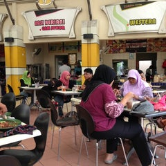 Photo taken at Sri Teja Food Court (Medan Selera) by Muhammad S. on 2/3/2013