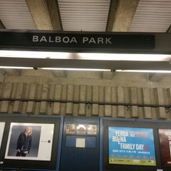 Photo taken at Balboa Park BART Station by Michael W. on 9/8/2013