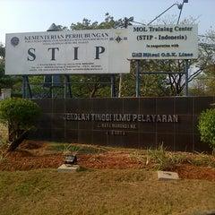 Photo taken at Sekolah Tinggi Ilmu Pelayaran (STIP) Marunda by Ichal A. on 9/9/2015