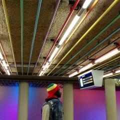 Photo taken at Metrostation Rotterdam Centraal by Anastasia G. on 10/6/2013