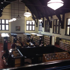 Photo taken at Toronto Public Library (High Park Branch) by Larisa R. on 4/2/2014