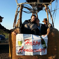 Photo taken at Magical Adventure Balloon Rides by Cam H. on 3/16/2013
