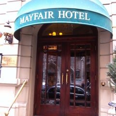 Photo taken at Mayfair Hotel by Ile K. on 11/5/2013