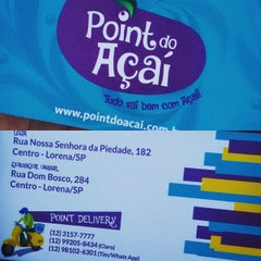 Photo taken at Point do Açaí by Rudson N. on 5/26/2015