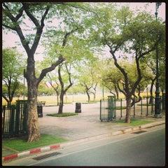 Photo taken at สนามหลวง (Sanam Luang) by Chaiyaphon D. on 4/3/2013