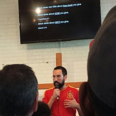 Photo taken at City Church of Compton by Mike H. on 2/16/2014