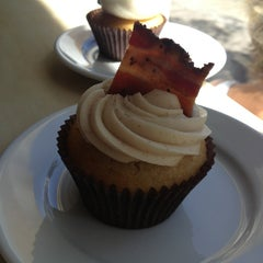 Photo taken at Moustache Baked Goods by Cindy B. on 5/12/2013