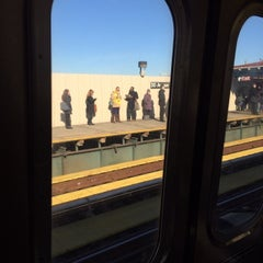 Photo taken at MTA Subway - 30th Ave (N/Q) by James C. on 11/4/2013