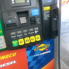 Photo taken at Sunoco by Tee C. on 9/2/2013