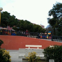 Photo taken at Parque Benicalap by Halyna Y. on 1/17/2016