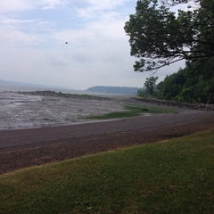 Photo taken at Plage Jacques Cartier by Jacques C. on 7/23/2014