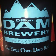 Photo taken at Dillon Dam Brewery by Jeremy W. on 1/31/2013