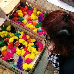 Photo taken at กาดติ๊ด ตลาดนัดวันอาทิตย์ (Sunday Market) by Ning P. on 4/20/2014