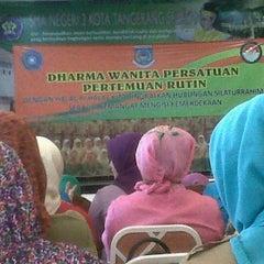 Photo taken at SMAN 2 Tangerang Selatan by Geetha R. on 8/27/2013