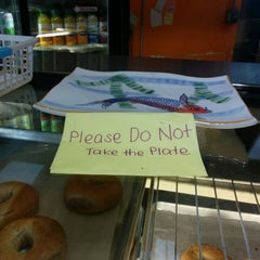 Photo taken at San Francisco Bagelry by Pierre A. on 3/4/2015