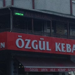 Photo taken at öZGüL URFA KEBAP by Şakir Ş. on 8/15/2013