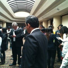 Photo taken at Swissôtel Lima by Angie S. on 10/23/2012