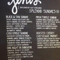 Photo taken at Jeni's Splendid Ice Creams by David F. on 12/29/2012