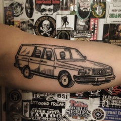 Photo taken at Northern Liberties Tattoo by Kyle F. on 6/18/2015