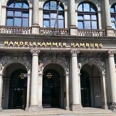 Photo taken at Handelskammer Hamburg by Nikolay R. on 7/25/2013