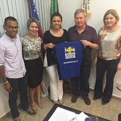Photo taken at Prefeitura Municipal de Manaus by Arthur V. on 6/30/2015