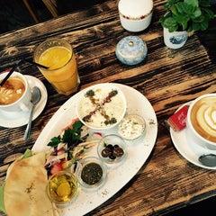 Photo taken at Café Resonanz by Paulina on 10/21/2014