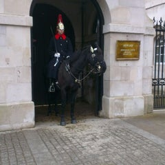 Photo taken at Horse Guards Parade by Nishan C. on 1/22/2013