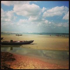 Photo taken at Praia de Jericoacoara by Carlos M. on 12/29/2012