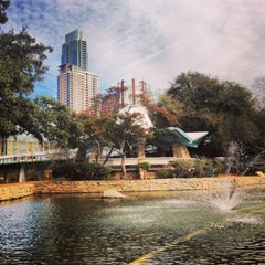 Photo taken at Lady Bird Lake Trail by Matt on 1/19/2013